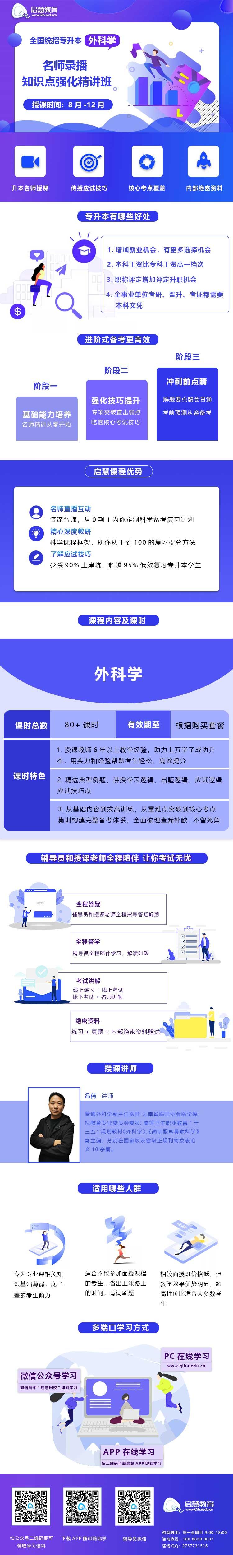 2021年云南统招专升本精讲课《外科学》