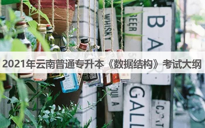 2021年云南普通专升本《数据结构》考试大纲