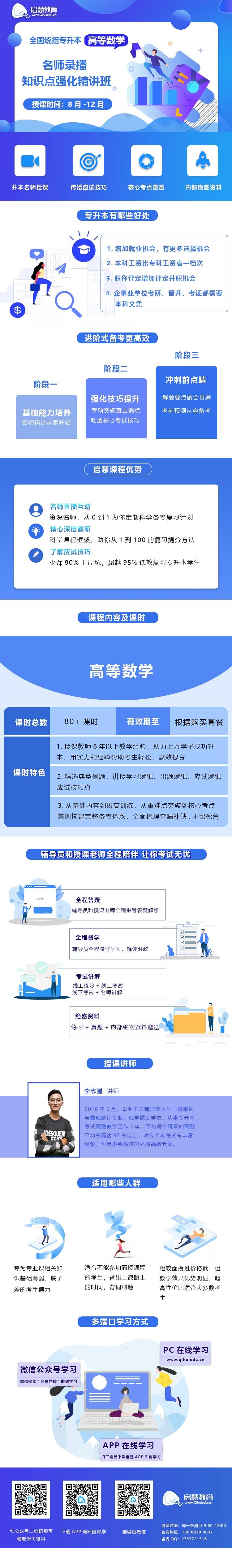 2021年云南统招专升本精讲课《高等数学》